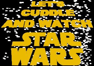 Cuddle Watch Star Wars On Blue
