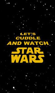 Cuddle Watch Star Wars On Black