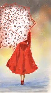 Lady In Rain