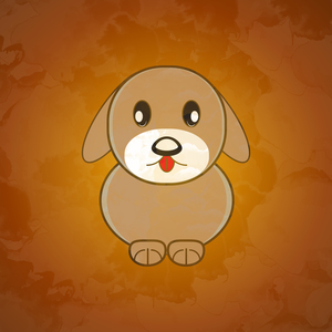 Cute Little Puppy Dog