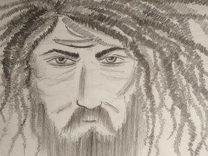 Sketchy Things Beard Man