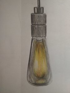 Artistic Light Bulb 2