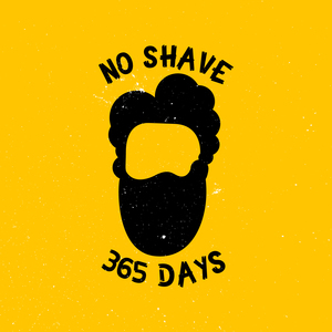 No Shave 365 Days On Yellow