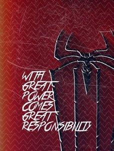 Spiderman Quote Zigzag