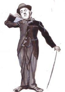 Charlie Chaplin Comic Actor