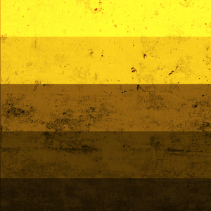 Yellow Shade Texture Print
