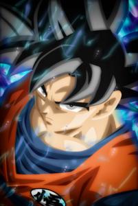 Goku Ultra Instinct 3