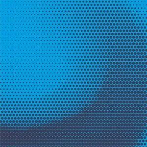 Amazing Halftone Dark Blue