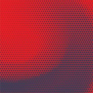 Amazing Halftone Red