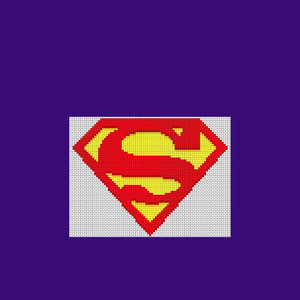 Pixelet Superman
