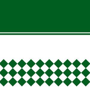 Tiles Pattern In Green