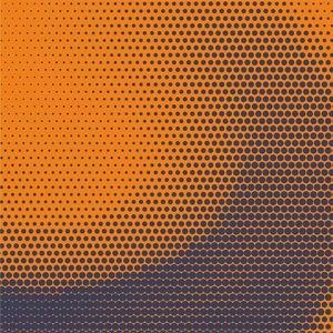 Amazing Halftone Orange