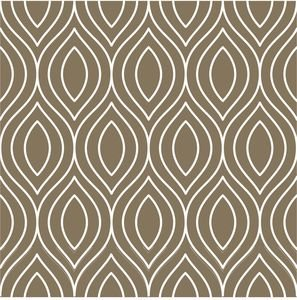 Pattern On Pastel Brown