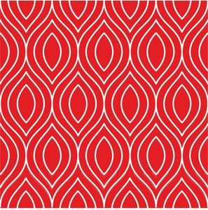 Pattern On Red