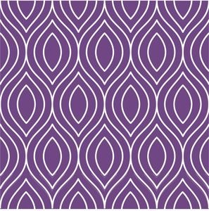 Pattern On Purple
