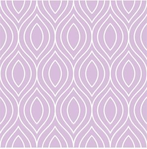Pattern On Pastel Purple