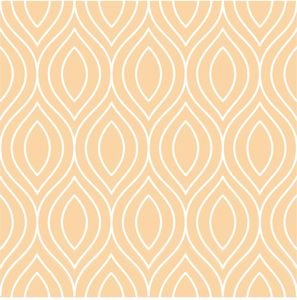 Pattern On Pastel Peach