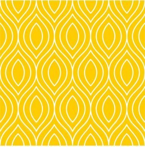 Pattern On Bright Yellow