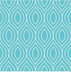 Pattern On Turquoise