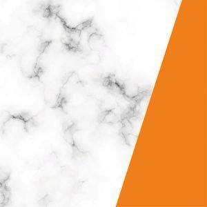 Elegant Marble Orange