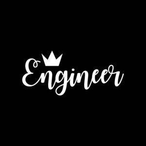 Engineer On Black