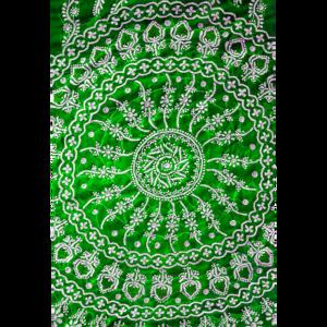 Chikankari Design In Green