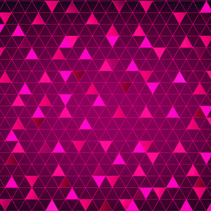 Abstract Triangle Pink