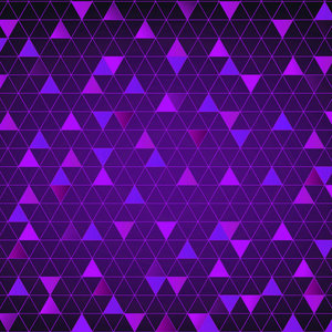 Abstract Triangle Purple