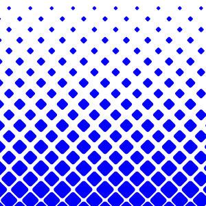 Blue Square Shower