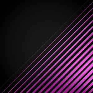 Pink Line On Black