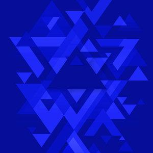 Love Triangle Dark Blue