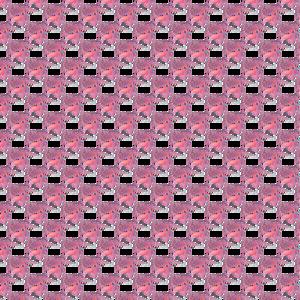 Pink Flamingo Pattern