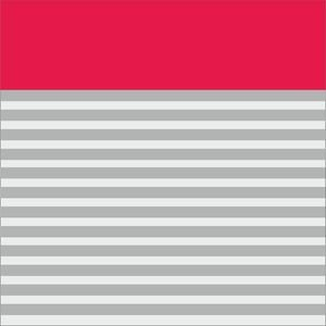 Pink Strips Block