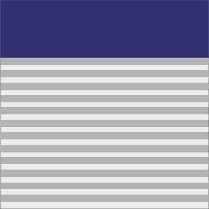 Classy Blue Strips Block
