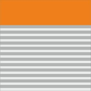 Classy Orange Strips Blocks