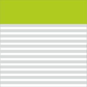 Classy Green Strips Block
