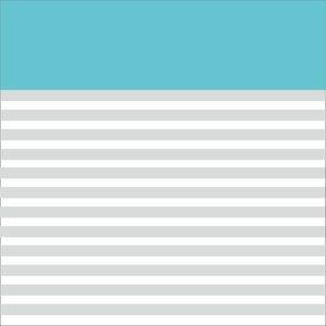 Classy Sky Blue Strips Block