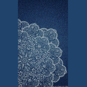 Jeans Print With Design