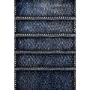 Jeans Thread Print