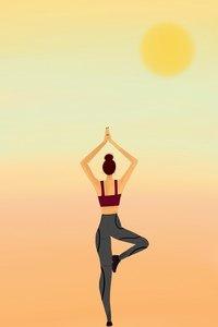 Yoga Lady 2