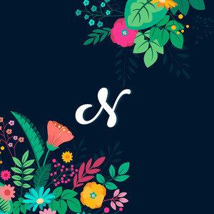 Floral N