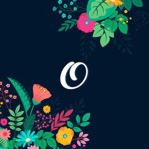 Floral O