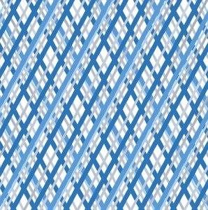 Blue Diagonal Stripes