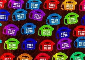 Cute Telephone Pattern