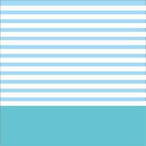 Sky Blue Strips