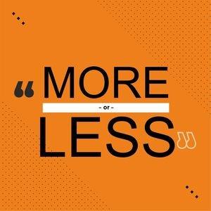 More Or Less In Orange