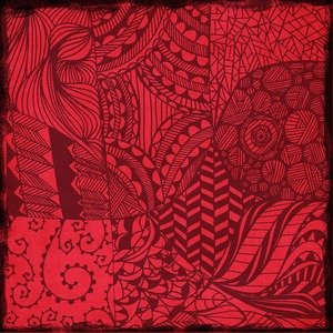 Artistic Red Pattern