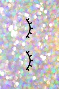 Glittery Eyelashes