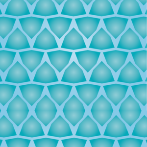 Triangle Blue Pattern