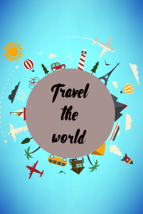 Travel The World On Blue